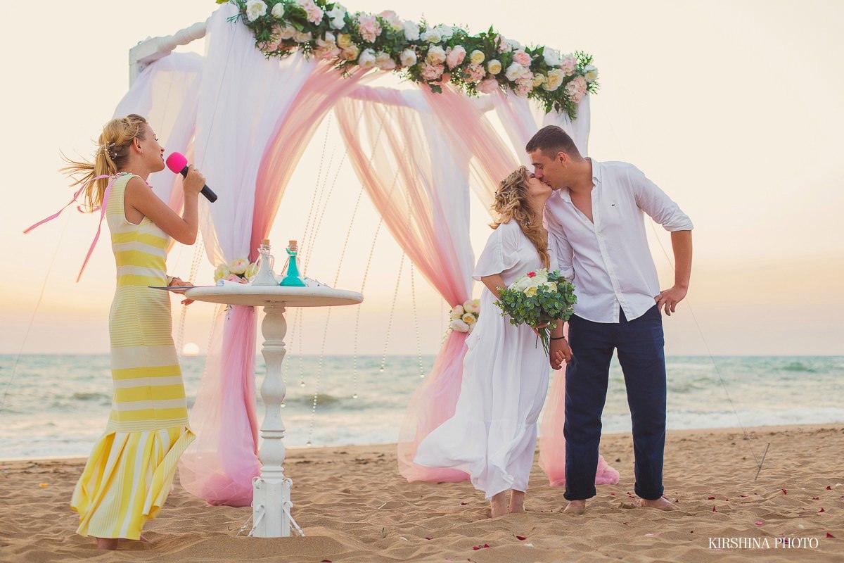 выездная регистрация брака с ведущей