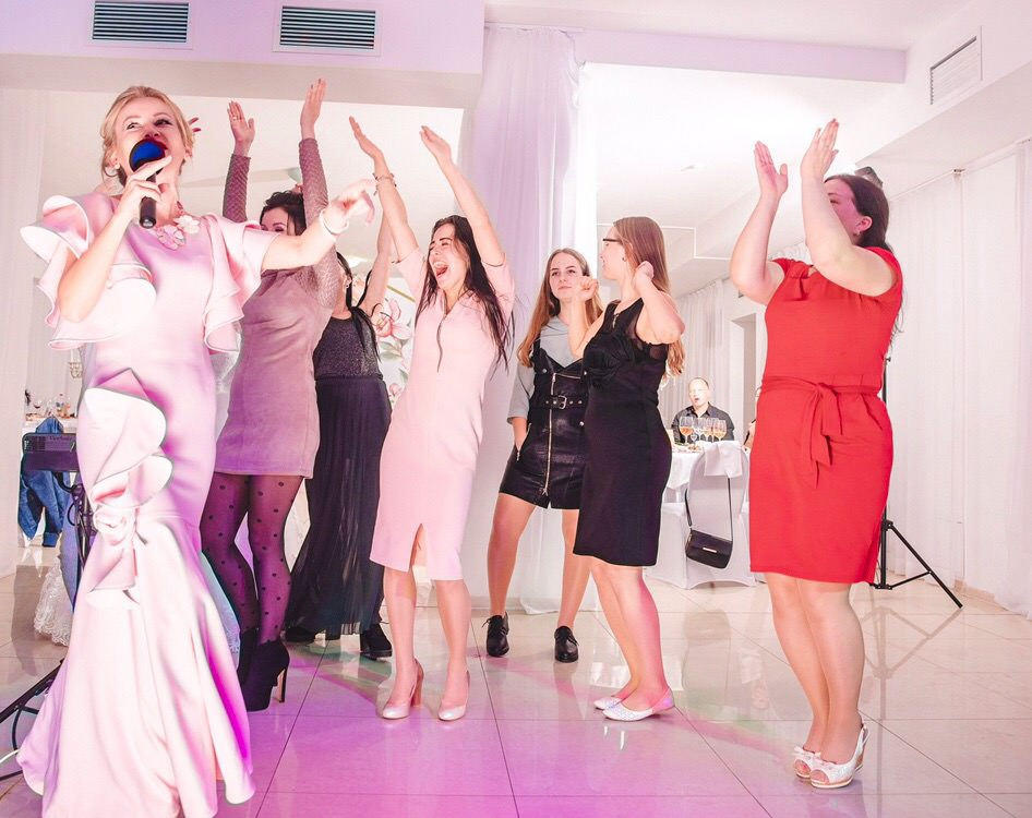 развлечение свадьба