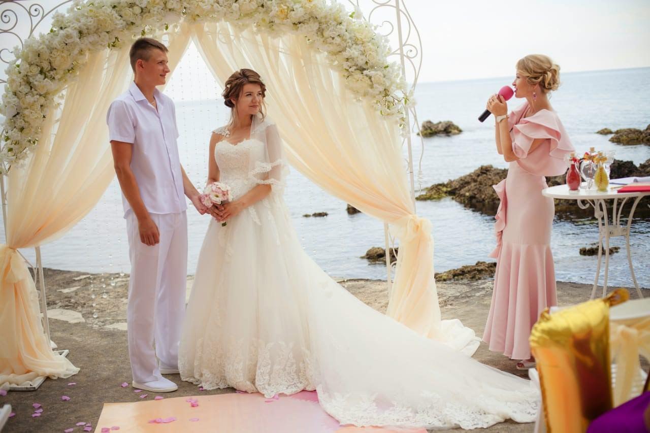 свадьба на двоих  в крыму